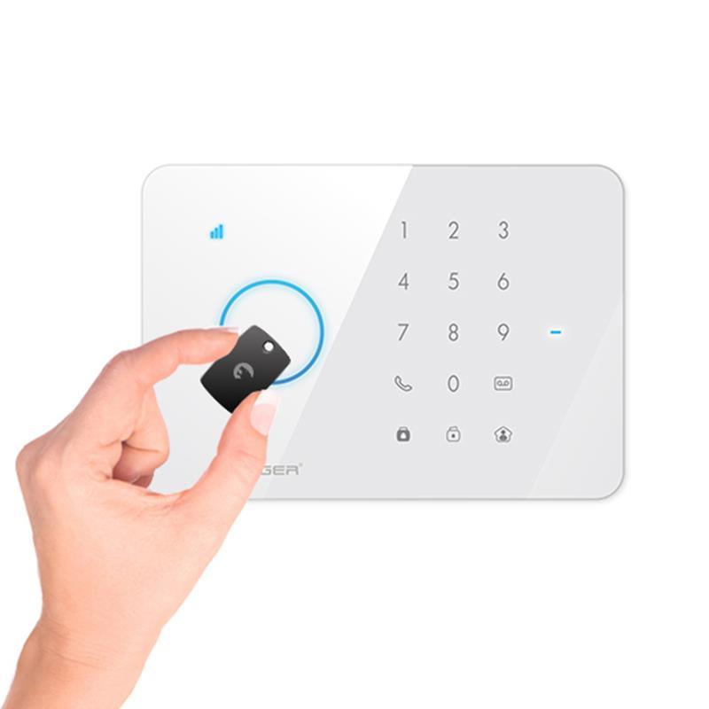 eTIGER S3b Sim Secual - Bezprzewodowy system bezpieczeństwa z nadajnikiem GSM (iOS/Android)