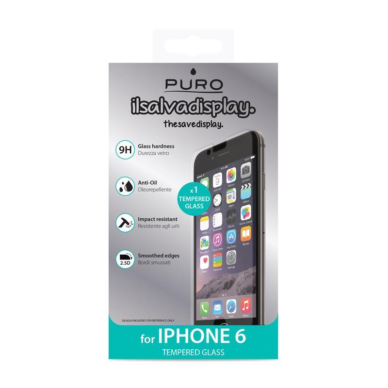 PURO Szkło ochronne hartowane na ekran iPhone 6s / iPhone 6