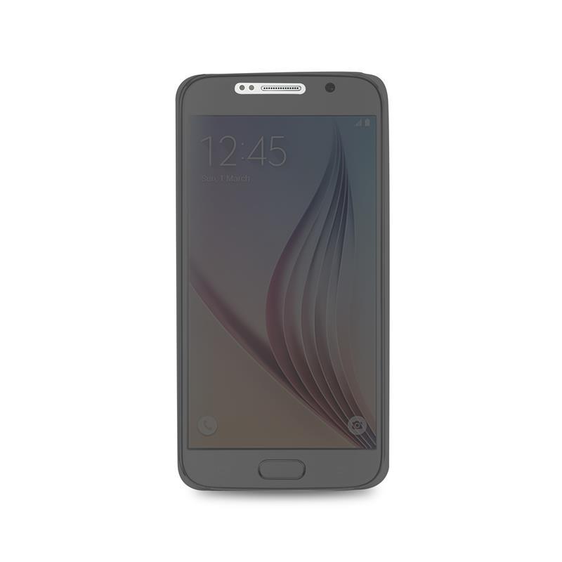 PURO Sense Case - Etui Samsung Galaxy S6 w/Quick View & Answer (przezroczysty tył)