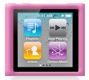 PURO Silicon Case - Etui iPod nano 6G (różowy)