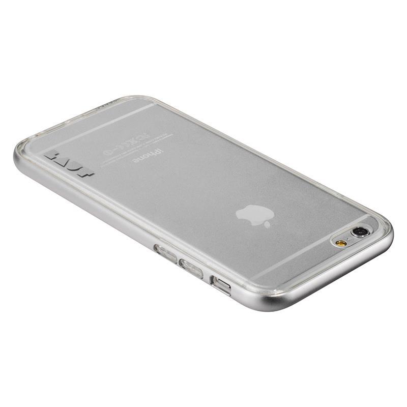 Laut EXOFRAME - Etui iPhone 6s / iPhone 6 z aluminiową ramką z 2 foliami na ekran w zestawie (Silver)