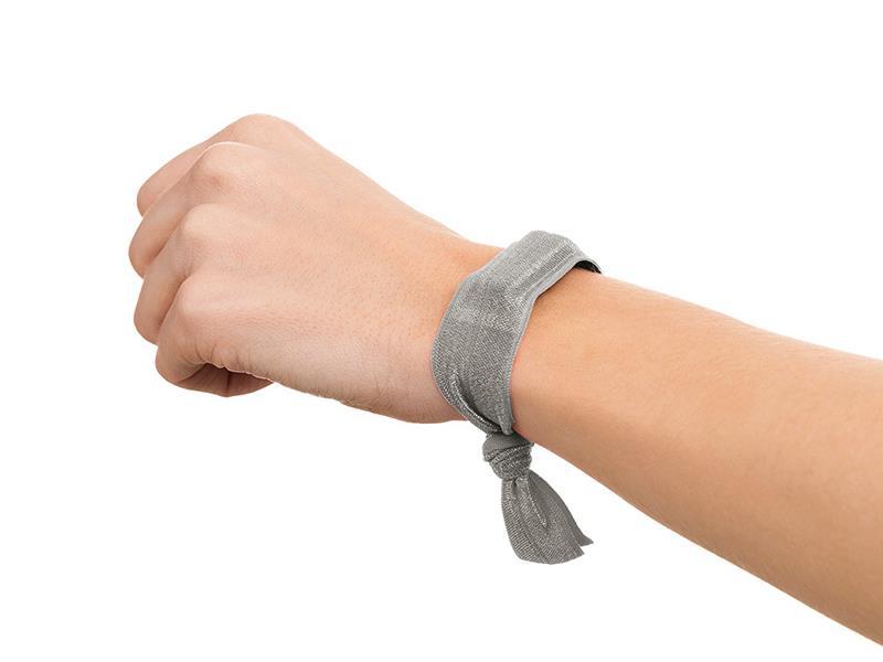 Griffin Ribbon Wristband - Opaski do Fitbit i Sony SmartBand (zestaw srebrny i fioletowy)