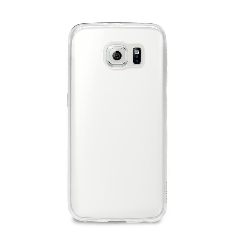 """PURO Ultra Slim """"0.3"""" Cover - Zestaw etui + folia na ekran Samsung Galaxy S6 edge (półprzezroczysty)"""