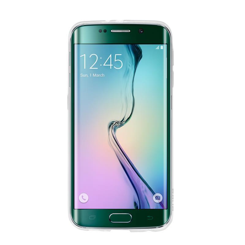 PURO Plasma Cover - Etui Samsung Galaxy S6 edge (przezroczysty)