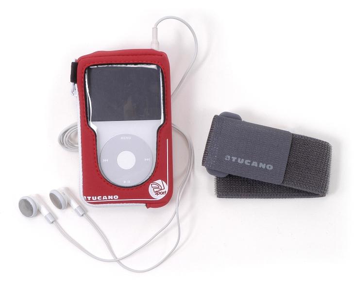 TUCANO Sportivo - Etui iPod video (czerwony)