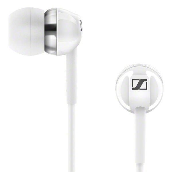 Sennheiser CX 1.00 White - Słuchawki dokanałowe (biały)