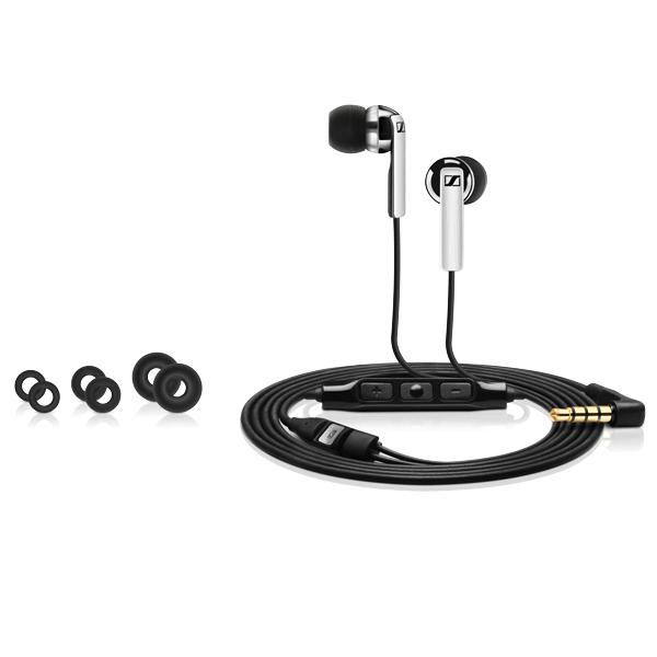 Sennheiser CX 2.00i Black - Zestaw słuchawkowy MFi (czarny)