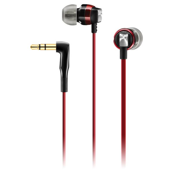 Sennheiser CX 3.00 Red - Słuchawki dokanałowe (czerwony)