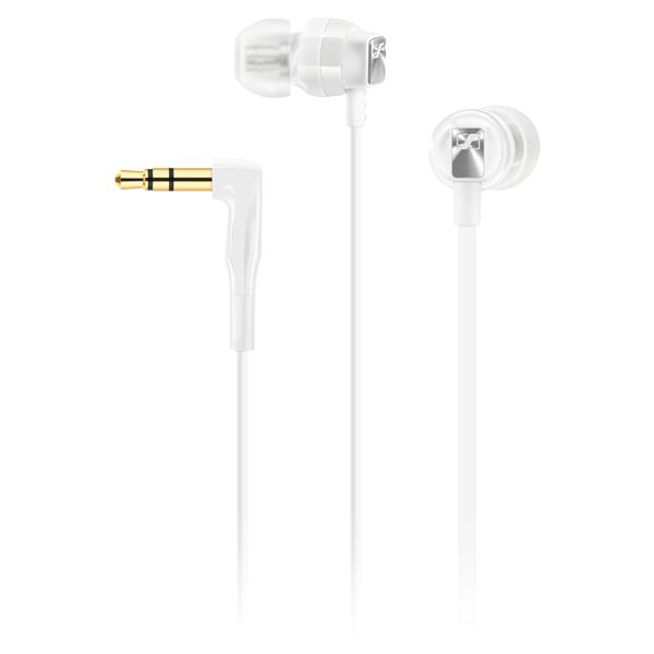 Sennheiser CX 3.00 White - Słuchawki dokanałowe (biały)