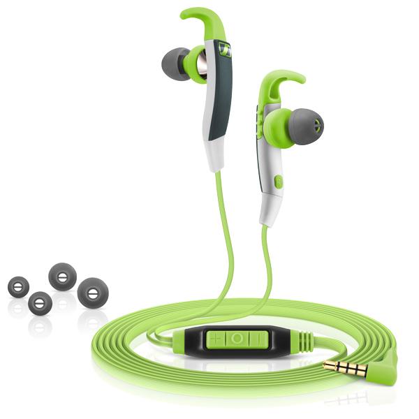 Sennheiser CX 686G Sports - Sportowy zestaw słuchawkowy (zielony)