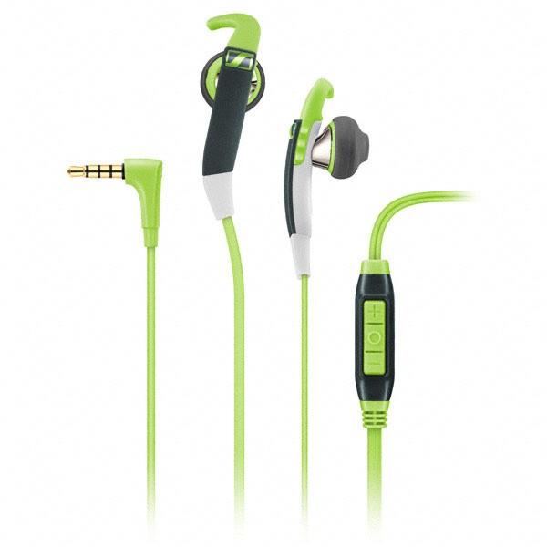 Sennheiser MX 686G Sports - Sportowy zestaw słuchawkowy z uchwytem na ucho (zielony)