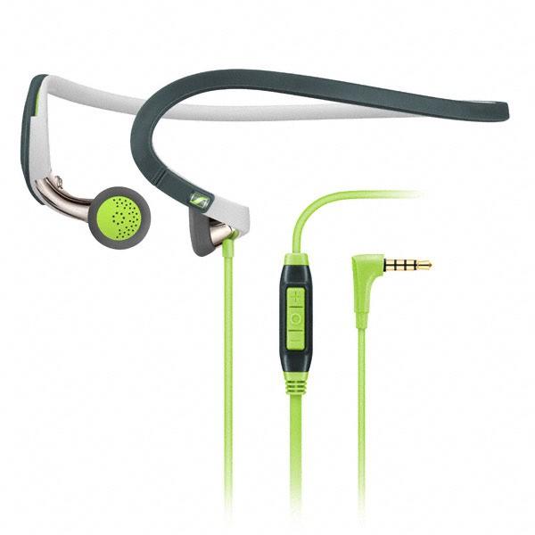 Sennheiser PMX 686G Sports - Sportowy zestaw słuchawkowy z pałąkiem zagłownym (zielony)