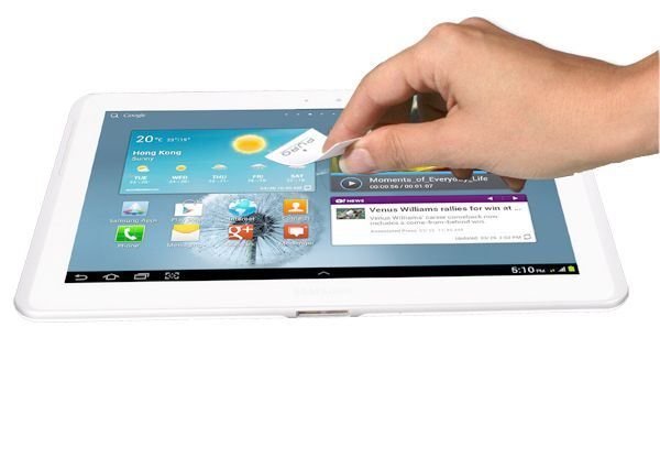 "PURO Folia anti-finger na ekran GALAXY Tab 2 10.1"""