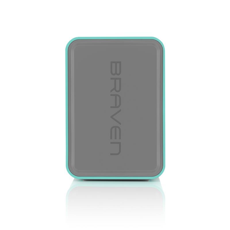 Braven 805 HD Portable Teal - Głośnik bezprzewodowy z funkcją Power Bank (4400 mAh)