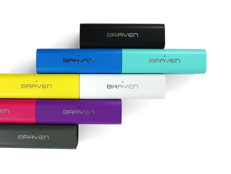 Braven 705 HD Portable Magenta - Głośnik bezprzewodowy z funkcją Power Bank (1400 mAh)