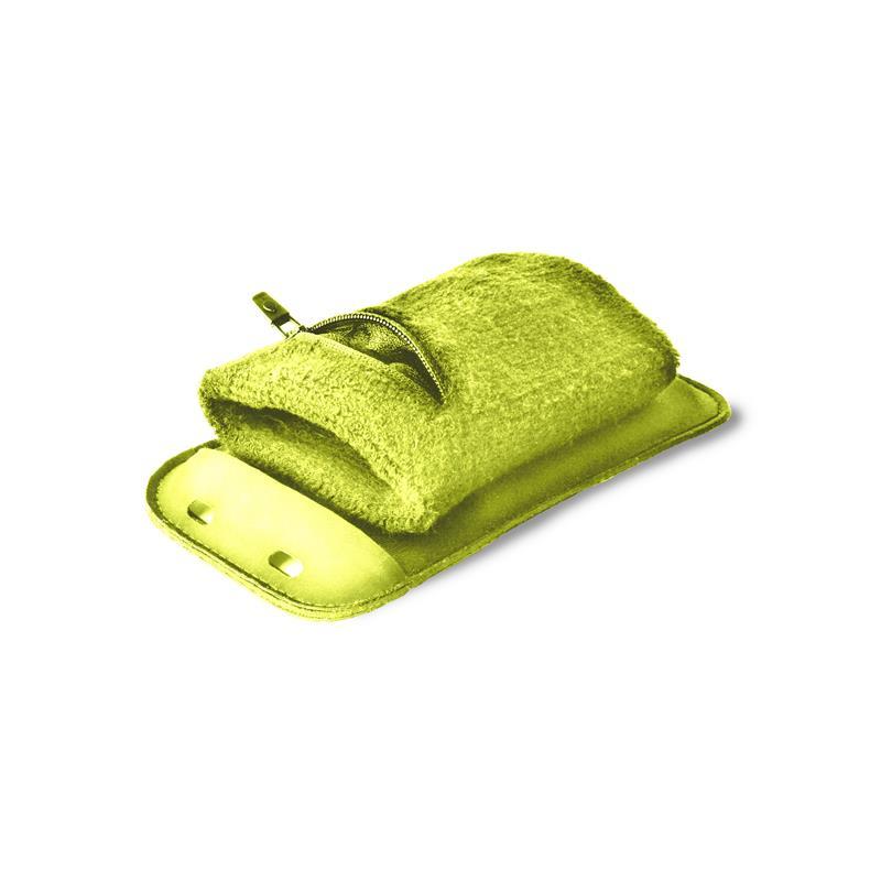 """PURO Running Band - Uniwersalna frotka do biegania do smartfonów max 4.3"""" + key pocket (limonkowy)"""