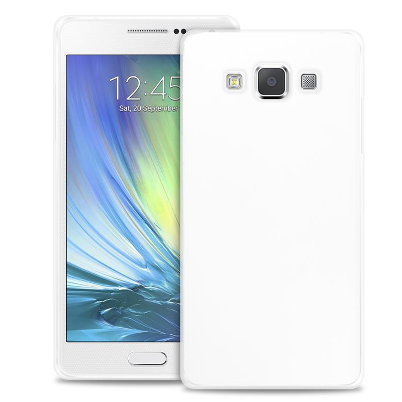 """PURO Ultra Slim """"0.3"""" Cover - Zestaw etui + folia na ekran Samsung Galaxy A7 (półprzezroczysty)"""
