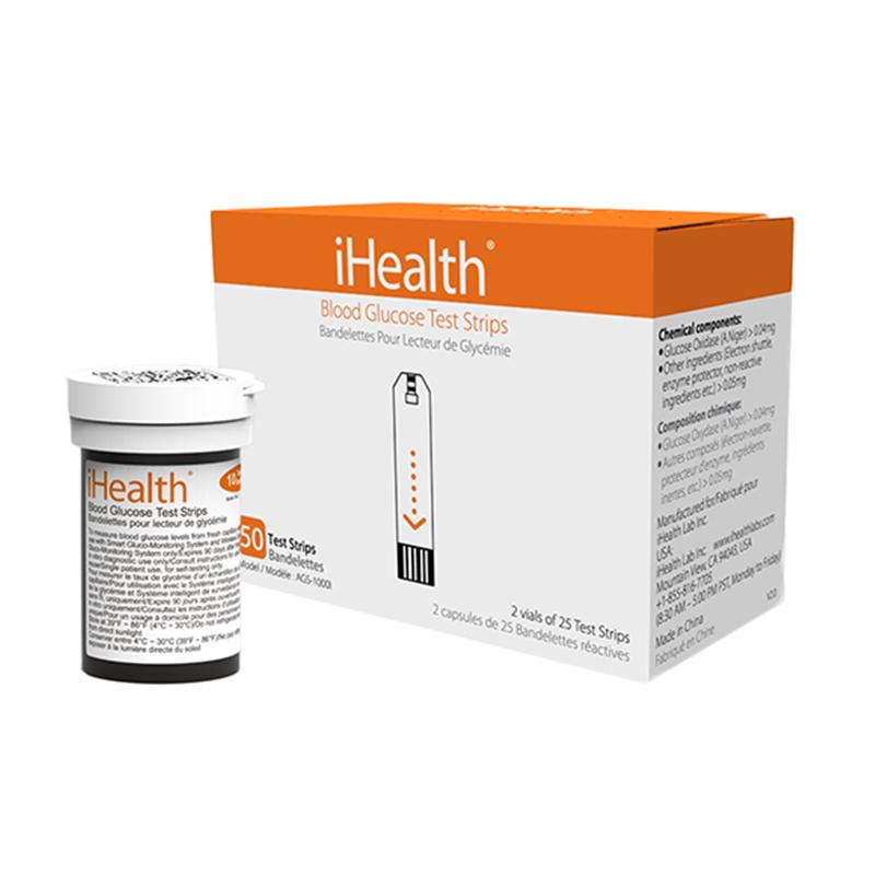 iHealth Smart Wireless Glucose Meter Kit - Elektroniczny glukometr bezprzewodowy iOS/Android (Bluetooth) ZESTAW