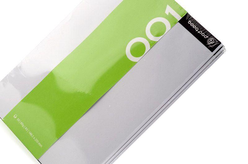 Booq Booqpad - Zeszyty gładkie (50 kartek każdy)