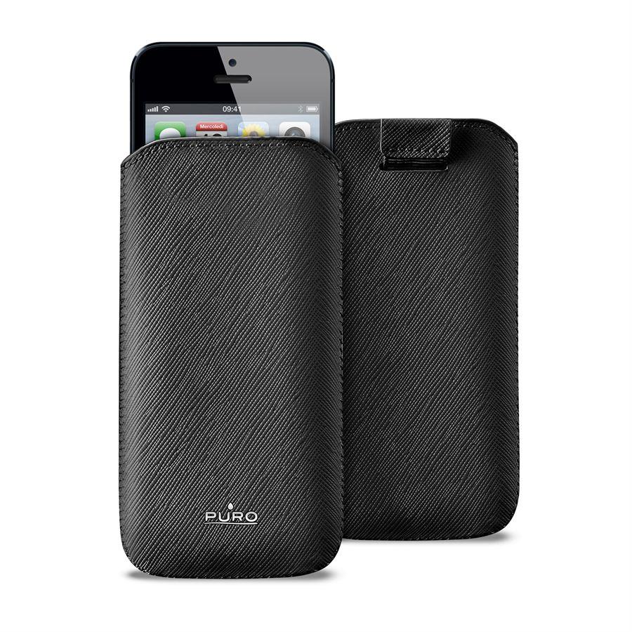 PURO Essential Slim - Etui iPhone SE / iPhone 5s / iPhone 5 (czarny)