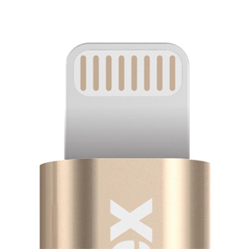 Kanex MiColor Premium Lightning - Kabel MFi z Lightning do USB 1,2 m (Gold)
