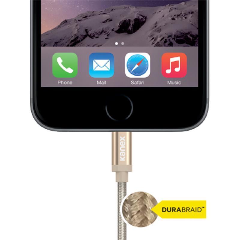 Kanex MiColor Premium Lightning - Kabel MFi z Lightning do USB 1,2 m (Space Grey)