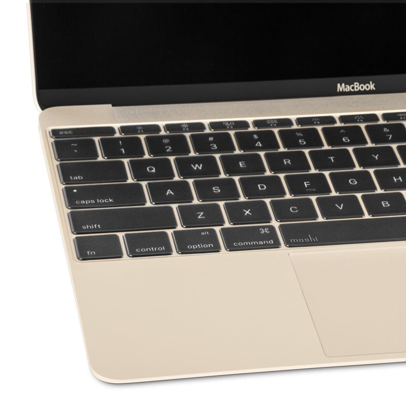 Moshi ClearGuard 12 - Nakładka na klawiaturę MacBook 12 / MacBook Pro 13 bez Touch Bar (EU layout)