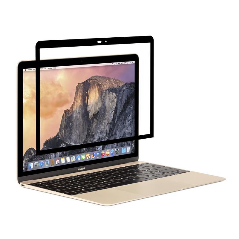 Moshi iVisor AG - Matowa folia ochronna na ekran MacBook 12 (czarny)
