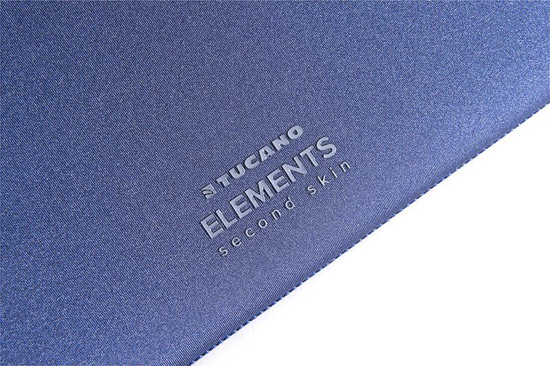 """TUCANO Elements - Pokrowiec MacBook 12"""" (niebieski)"""