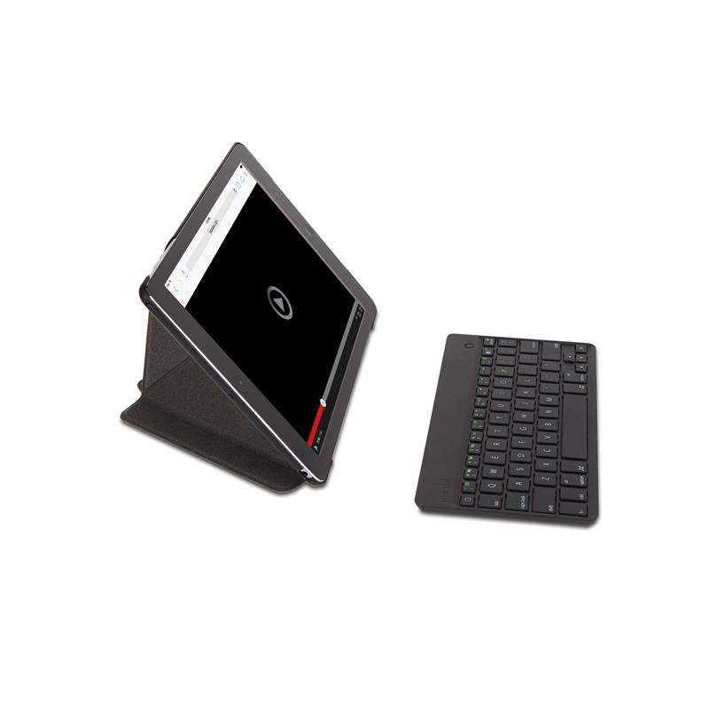 Moshi VersaKeyboard US - Klawiatura Bluetooth z etui do iPad Air (czarny)