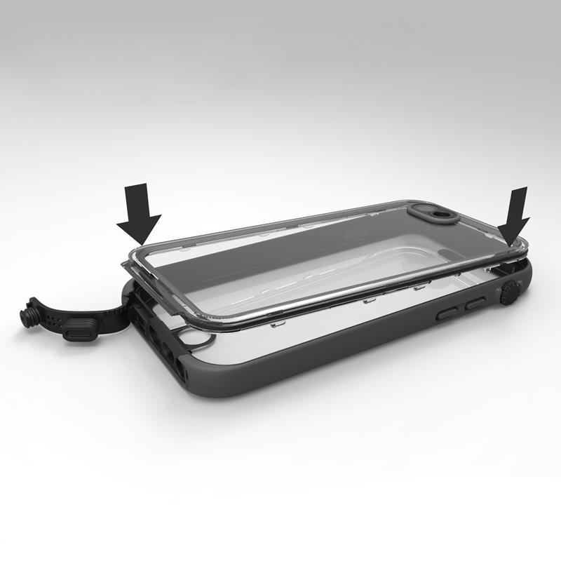 Catalyst Replacement O-ring - Pierścień uszczelniający do wodoszczelnego etui iPhone 6s / iPhone 6 (czarny)