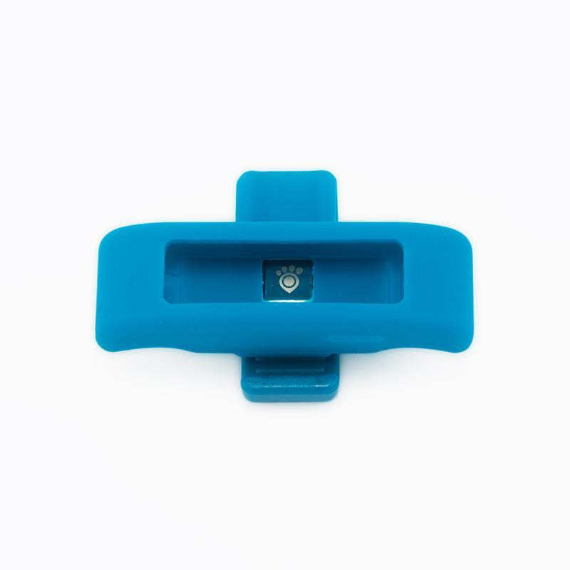 Tractive Motion Accessory Clips - Zestaw trzech klipsów do monitora aktywności dla zwierząt (niebieski/fioletowy/różowy)