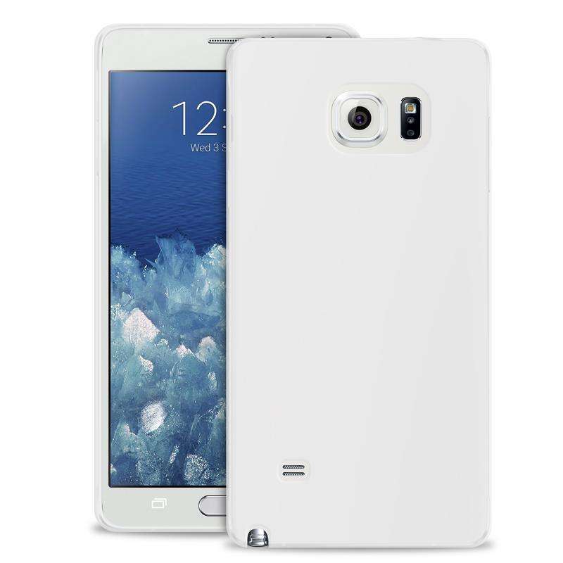 """PURO Ultra Slim """"0.3"""" Cover - Zestaw etui + folia na ekran Samsung Galaxy Note 5 (półprzezroczysty)"""