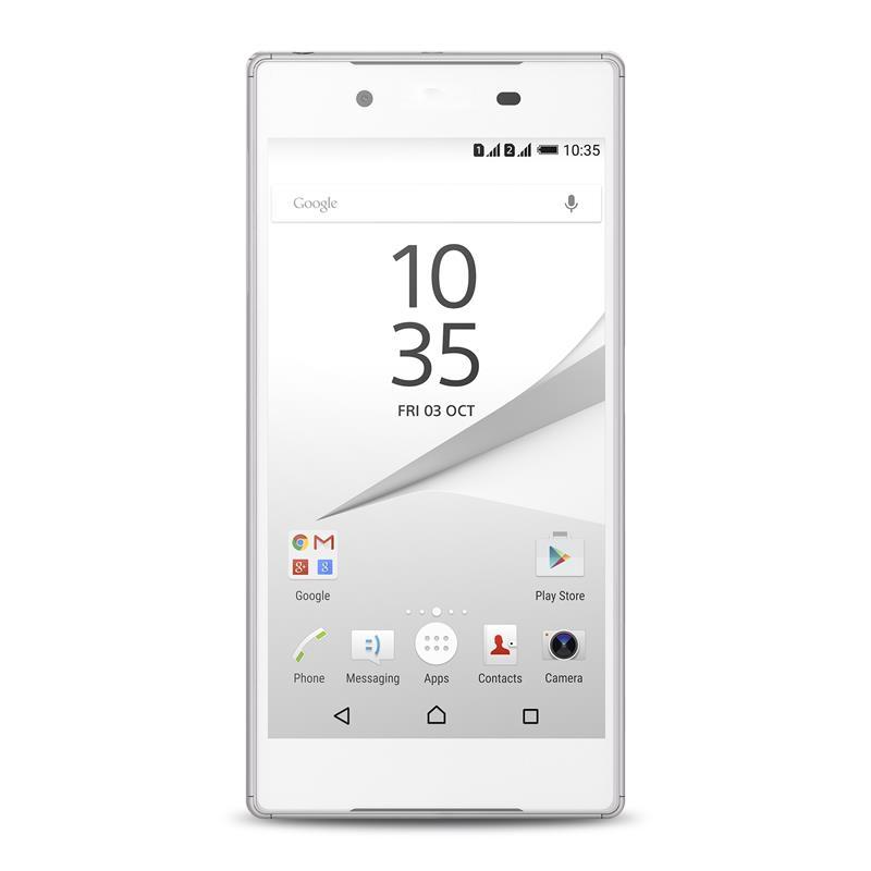 """PURO Ultra Slim """"0.3"""" Cover MFX - Zestaw etui + folia na ekran Sony Xperia Z5 (półprzezroczysty)"""