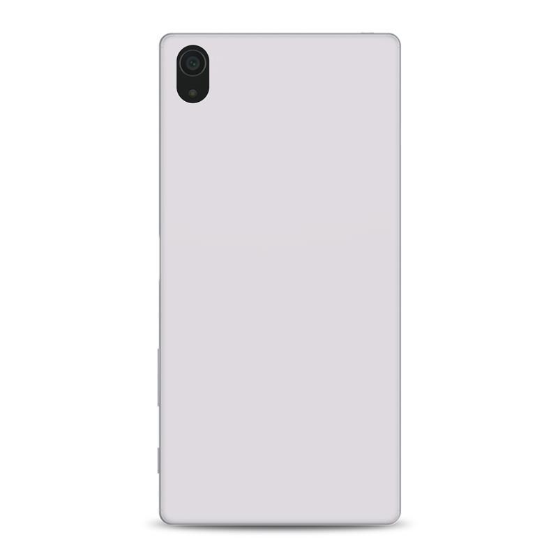 """PURO Ultra Slim """"0.3"""" Cover MFX - Zestaw etui + folia na ekran Sony Xperia Z5 Premium (półprzezroczysty)"""