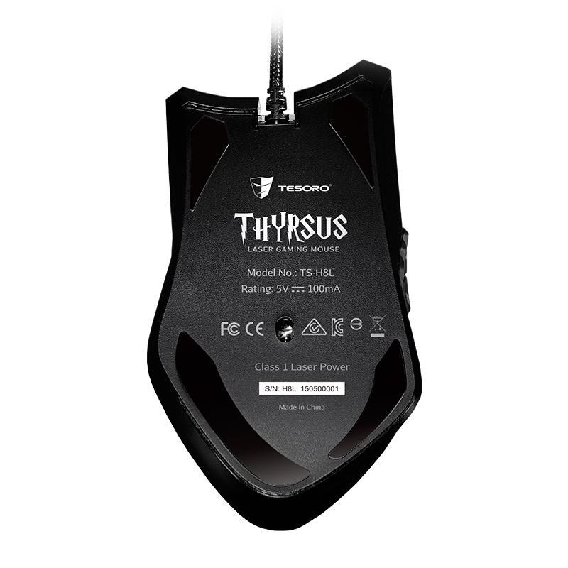 Tesoro Thyrsus - Mysz laserowa 8200 DPI