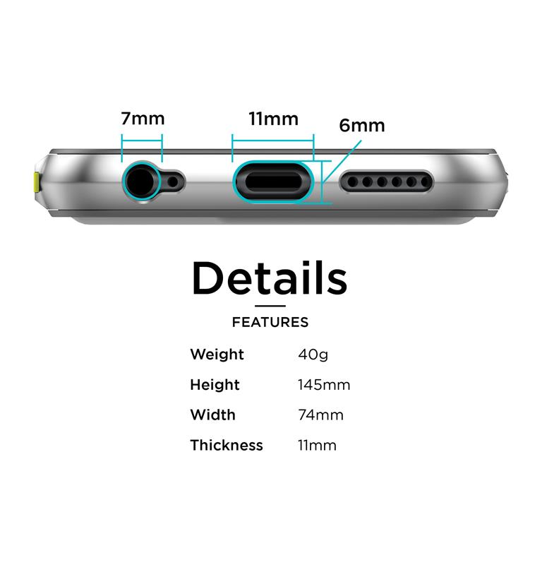 X-Doria Defense Lux - Aluminiowe etui iPhone 6s / iPhone 6 (Black Carbon)