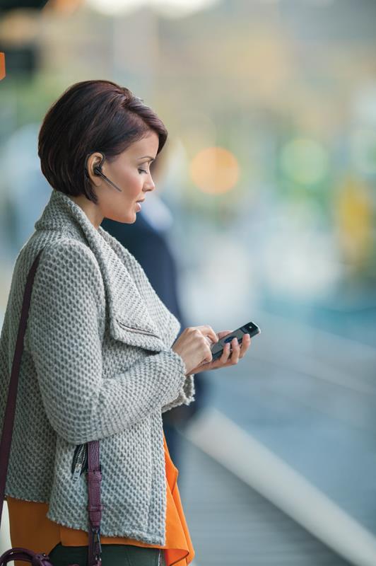 Plantronics Voyager Legend - Uniwersalna słuchawka Bluetooth Wideband do GSM (czarny)