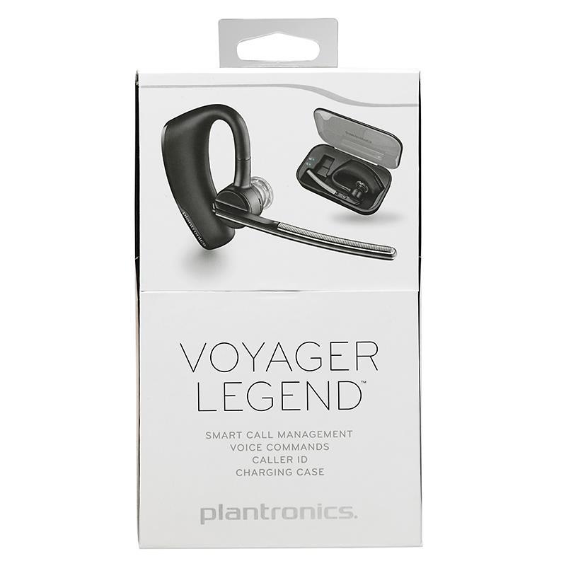 Plantronics Voyager Legend - Uniwersalna słuchawka Bluetooth Wideband do GSM + etui ładujące (czarny)