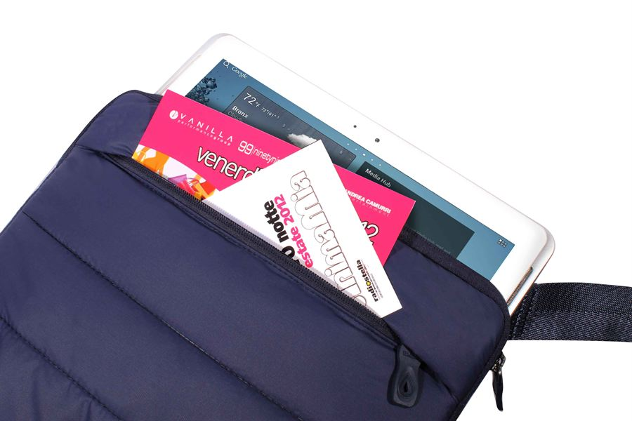 "PURO Tablet Horizontal Bag - Torba iPad-10.1"" (niebieski)"