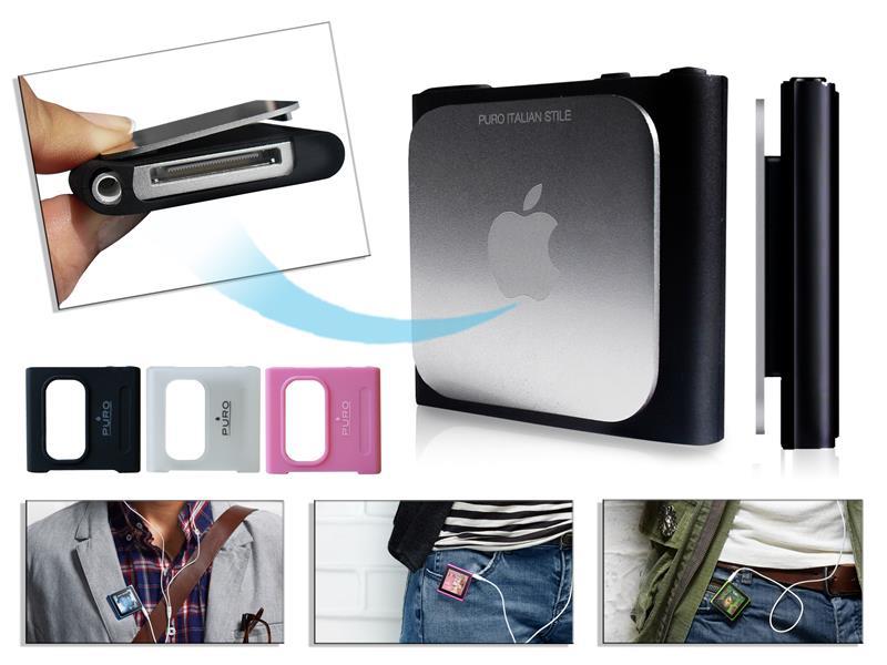 PURO Silicon Case - Etui nano 6G (przezroczysty)
