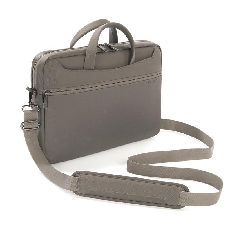 "TUCANO Work_out Slim Bag - Torba MacBook Air 13"" / MacBook Pro 13"" / MacBook Pro 13"" Retina / Ultrabook 13"" + kieszeń na iPada (popielaty)"