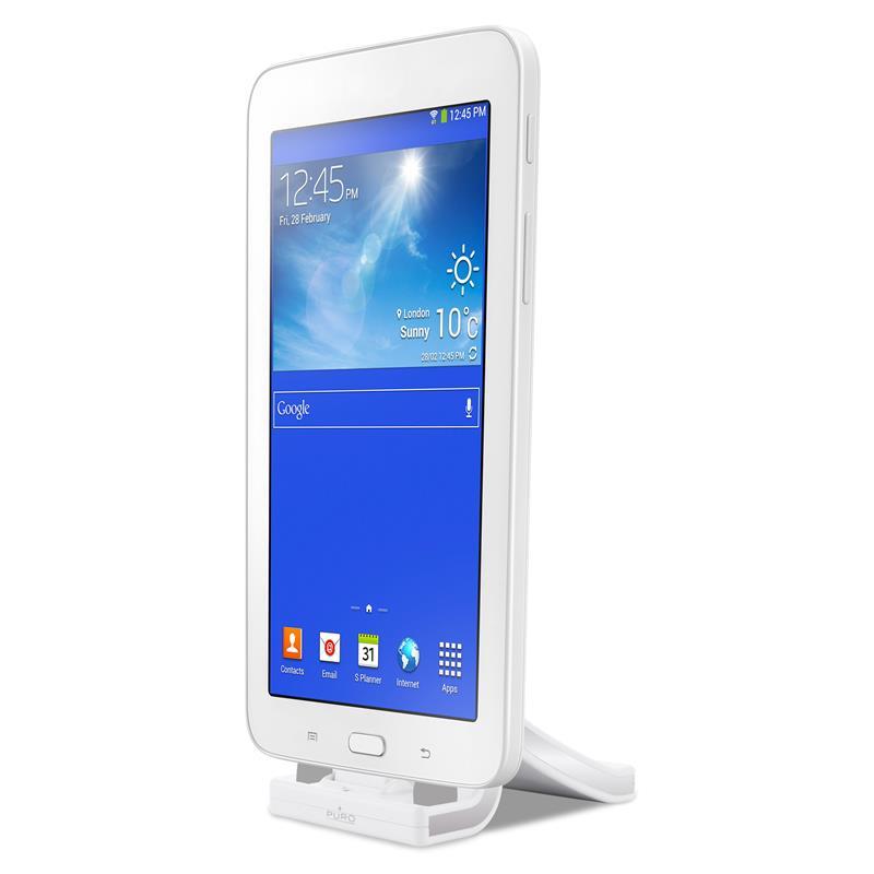 PURO Charging Desk Holder - Stacja dokująca micro USB (biały)