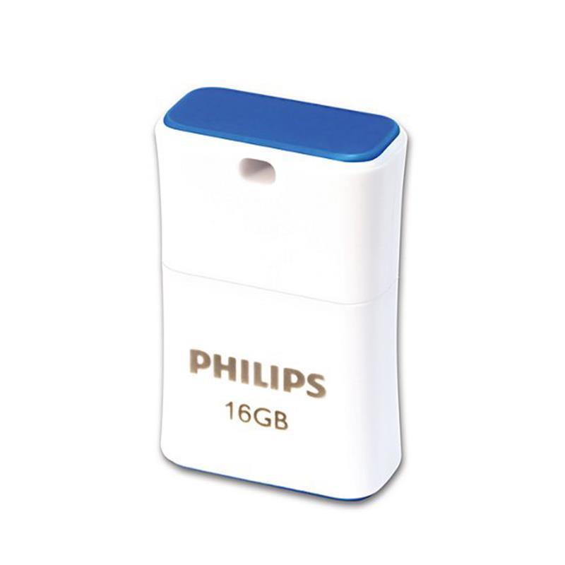 Philips Pendrive USB 2.0 16GB - Pico Edition (niebieski)