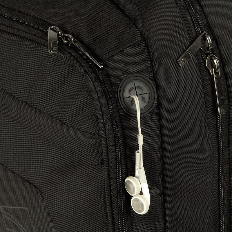 """TUCANO LATO - Plecak MacBook Pro 17"""" / Notebook 17"""" + kieszeń na iPada (czarny)"""