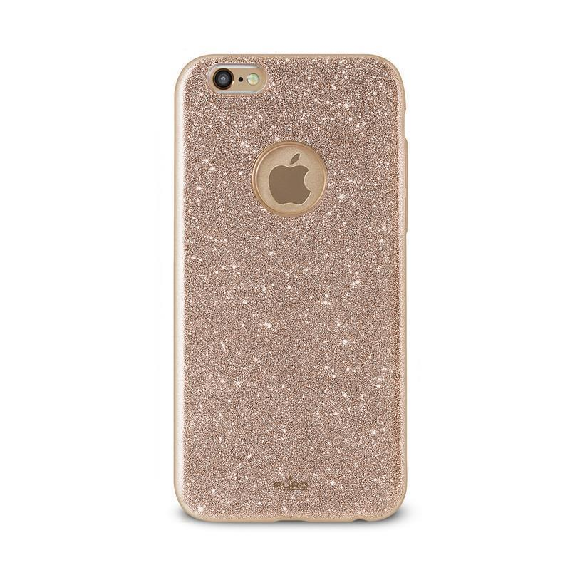 PURO Glitter Shine Cover - Etui iPhone 6s / iPhone 6 (Gold)