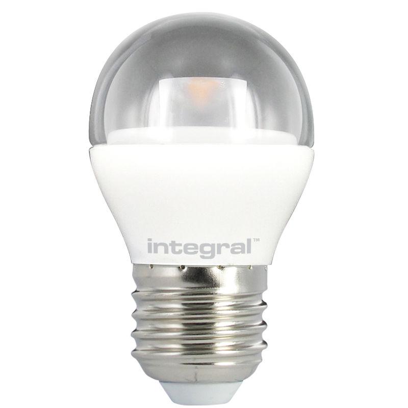 Integral żarówka LED E27 Mini Globe 4W (25W) 2700K 250lm Clear barwa biała ciepła
