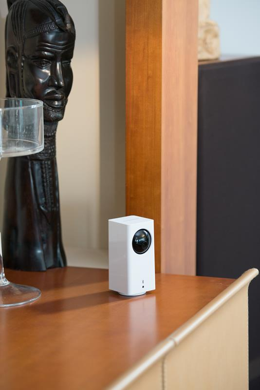 iSmartAlarm iCamera KEEP - Bezprzewodowa kamera z obrotową podstawą do monitoringu HD z funkcją elektronicznej niani (iOS/Android)