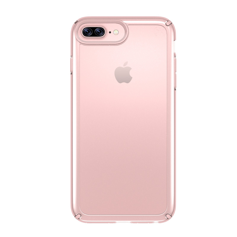 Speck Presidio Show - Etui iPhone 7 Plus / iPhone 6s Plus / iPhone 6 Plus (Clear/Rose Gold)