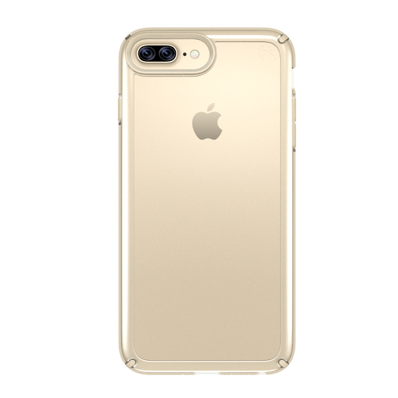 Speck Presidio Show - Etui iPhone 7 Plus / iPhone 6s Plus / iPhone 6 Plus (Clear/Pale Yellow Gold)